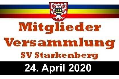 Mitgliederversammlung SV Starkenberg 2020 post thumbnail
